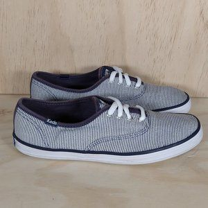 Keds Champios Classic Striped Women´s Size 6.5